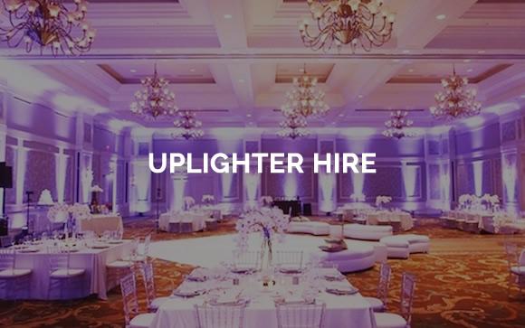 Uplighter hire and venue uplighting in Kent, Surrey, Sussex & London