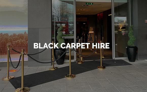 Black Carpet Hire in London, Kent, Surrey, Sussex & Essex.